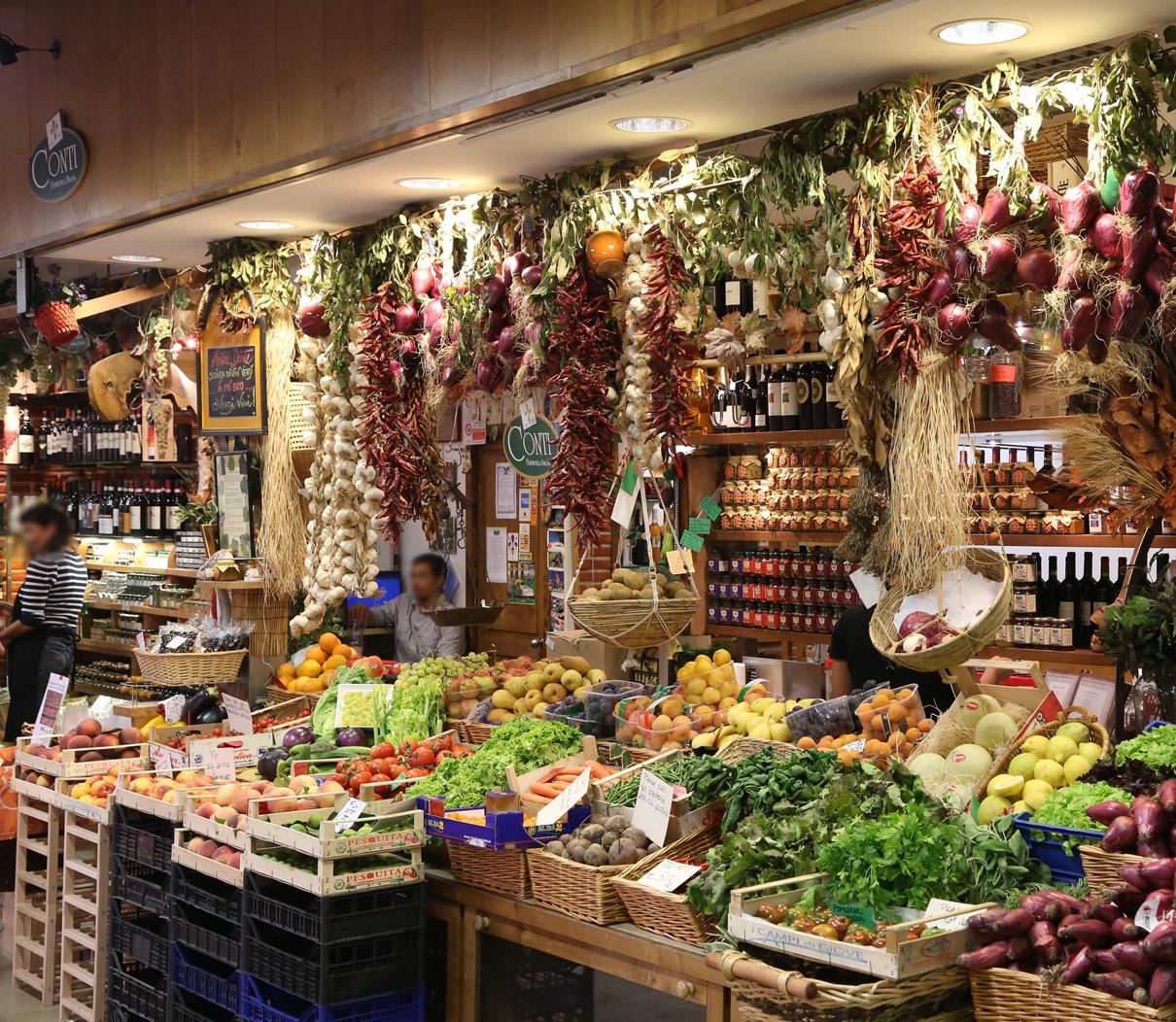 Florence Central Market Zanussi