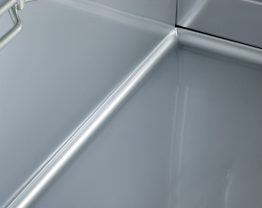 Rounded corner Zanussi Professional Refrigeration
