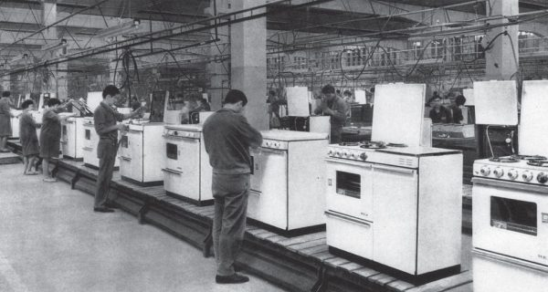 Zanussi old kitchens