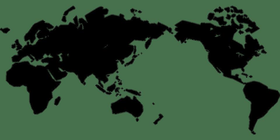 world map Zanussi Professional Change language and country